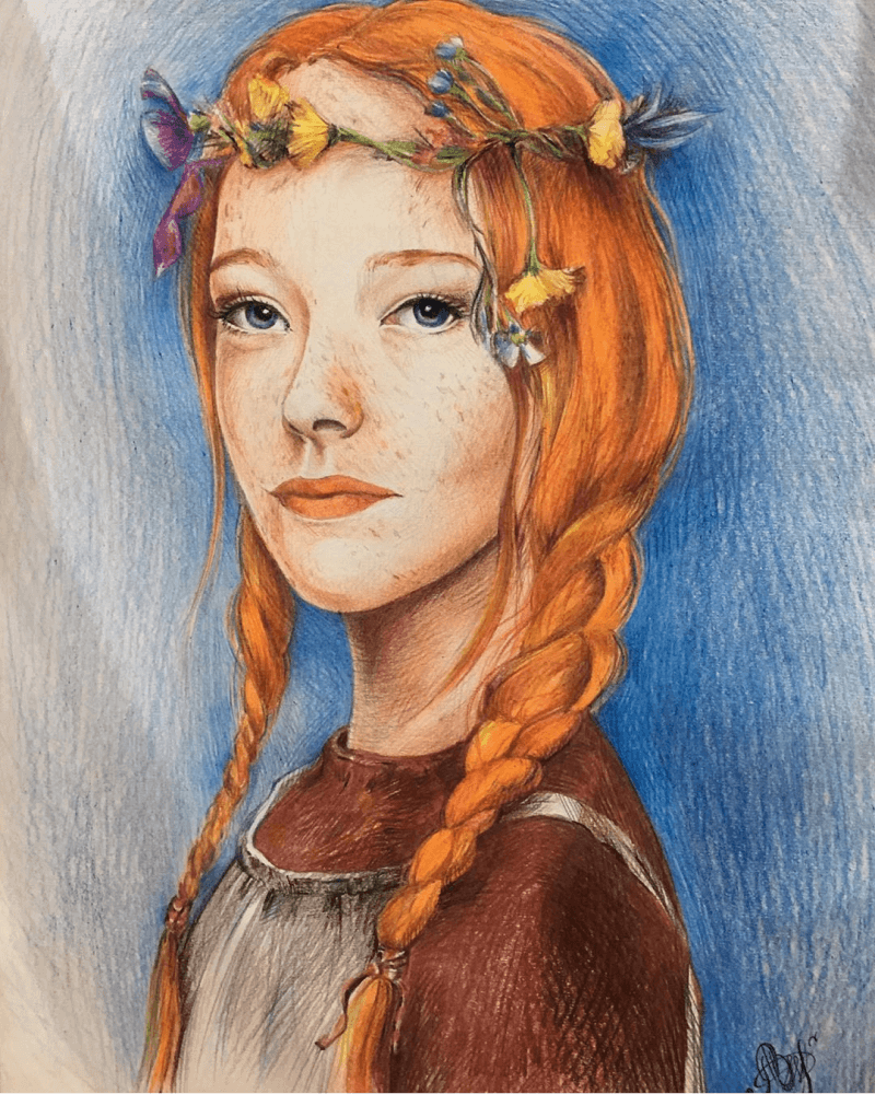 An Evergreen Character - Anne Of Green Gables
