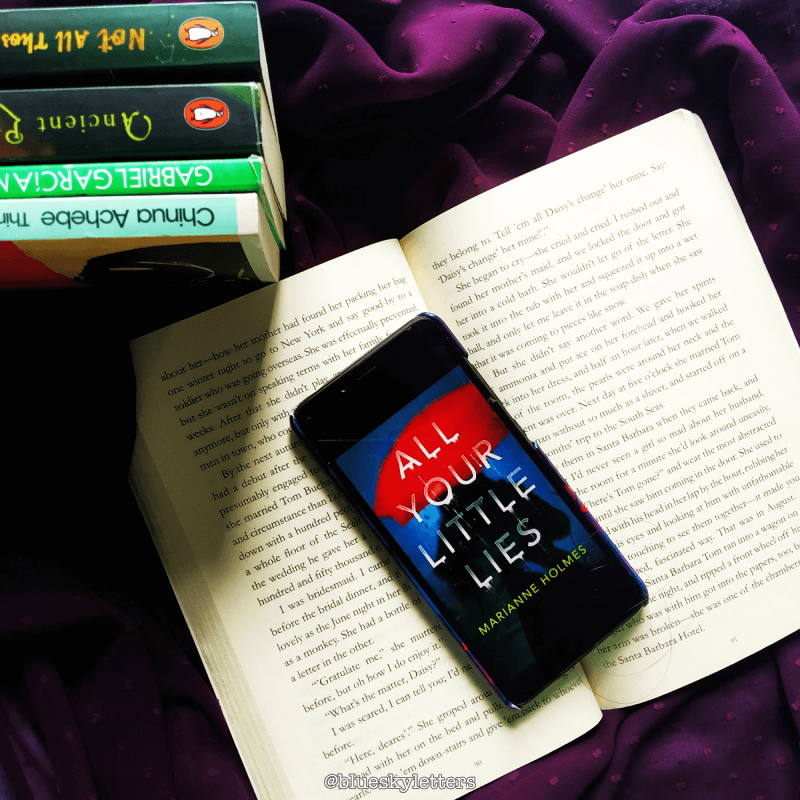 All Your Little Lies- Book review